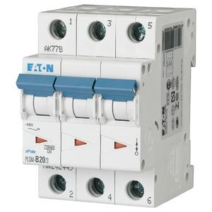 Eaton Leitungsschutzschalter 20A 3-polig D-Char