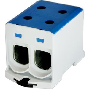 Kompaktaluklemme 1-pol. Cu/AL 35-240mm² 400/315 A 2/2 blau