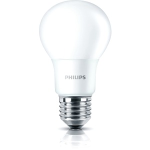 Philips LED-Lampe CorePro LEDbulb 8-60W 806lm A60 E27 827 matt