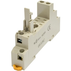 Schraubsockel für G2R-2-S DIN-Schiene / Oberflächenmontage Halteclip