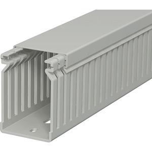 Verdrahtungskanal 60x40x2000 PVC steingrau RAL 7030