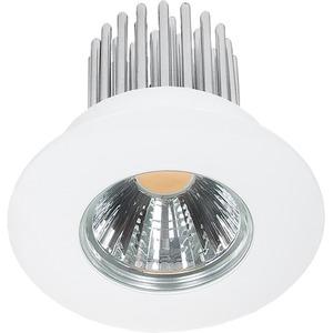 LED Einbaustrahler A 5068 S IP44 weiß 12W warmweiß 38°