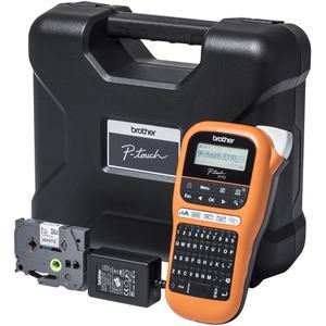 Industrielles Beschriftungsgerät P-Touch E110VP mit Netzadapter und Hartkoffer