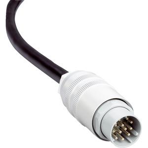 Anschlussleitung Stecker M26 8-pol gerade offenes Ende 2,5m Kabel PVC