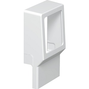 OBO Geräteträger 1-fach leer PVC reinweiß RAL 9010