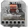 Stromstoßschalter für Chassis / UP-Dose 1S 10 A Aus/An 230VAC Serie 26