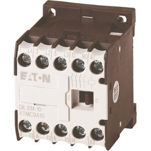 Leistungsschütz AC-3/400V 4 kW 3-polig DC DIL EM-10-G