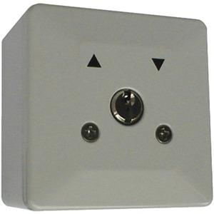 AP-Schlüsselschalter 1-polig 2-seitig Metallabdeckung