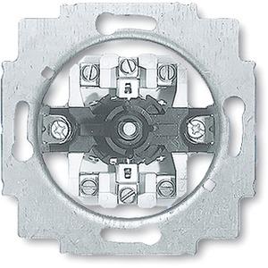 Unterputz Jalousieschalter mit Drehgriff 1P+N+E