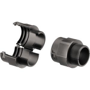 Kunststoff Verschraubung teilbar PA6 metrisch 20M25 schwarz
