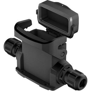 Han-Eco Outdoor 10A-ASG2-M20 mit Kappe / Kabelverschraubung