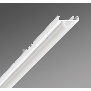 Geräteträger Diffusor geeist aus Stahl 6600lm 43W IP20 1531x55x42mm RAL 9016
