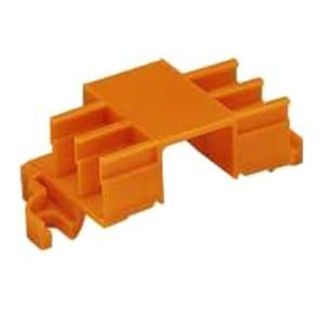 Befestigungsadapter für 6 Steckplätze orange