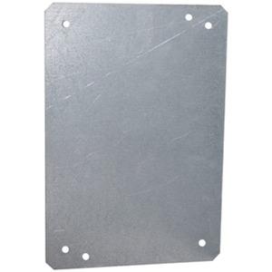 Mehler Montageplatte Stahl feuerverzinkt 220 x 330 x 2 mm