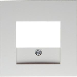 Zentralstück für TAE-Steckdose S.1/B.3/B .7 Glas polarweiß glänzend