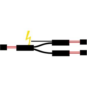 Devi T-Abzweiger für 3 Heizbänder unf 3 Endabs