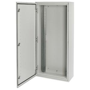 Eaton Aufputz Feuchtraum Verteiler weiß mit Doppelbart Verschluss 400/12-W