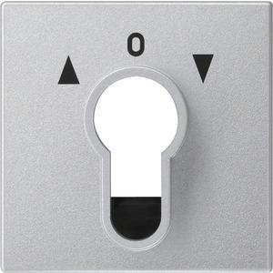 Abdeckung Schlüsselschalter für System 55 Aluminium