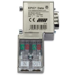 Epic Data Profibus Steckverb.mit 90° Kabelabgang und LED Diagnose