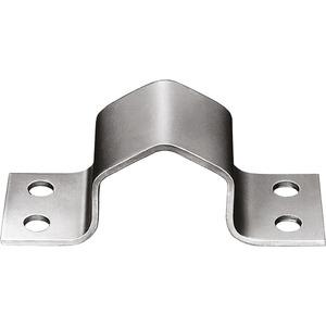 Mastschelle Stahl 4-Loch bis 42 mm