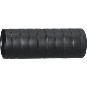 Kunststoff Steckmuffe 20 schwarz halogenfrei Rille