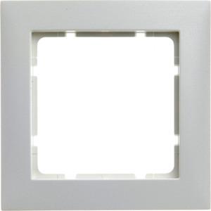 Abdeckrahmen 1-fach S.1 polarweiß / matt
