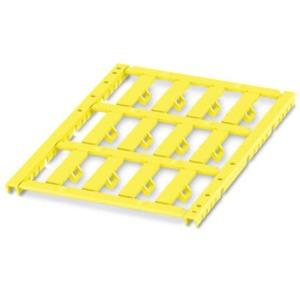 Kabelmarker Matte gelb unbeschriftet Schriftfeldgröße: 29x6mm