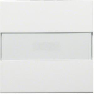 Wippe kallysto mit Kontrollfenster und Beschriftungsfeld brillantweiß