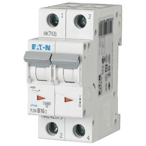 Eaton Leitungsschutzschalter 16A 2-polig D-Char