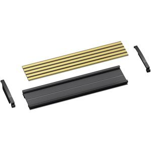 POWERBUS Busträger mit Busleiterplatte für TS 35 H= 15 mm  L= 250 mm