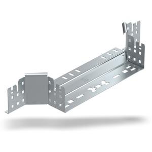 Anbau-Abzweigstück Magic mit Schnellverbindung Stahl bandverzinkt 85x200 mm
