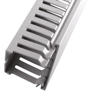 Verdrahtungskanal BxH 37,5x37,5 mm PVC grau RAL7030 VPE=40 m