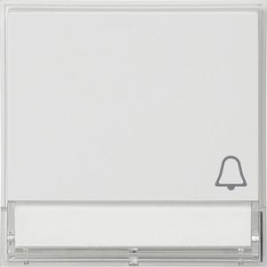 Wippe Symbol Klingel beschriftbar für TX_44 (WG UP) reinweiß