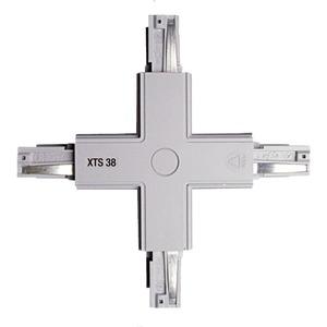 NOA Verbinder-X grau mit Einspeisungsmöglichkeit XTS 38-1