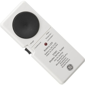 Glasbruch-Testgerät Funk Alarm Weiß