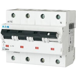 Eaton Leitungsschutzschalter 40A 3-polig+N C-Char