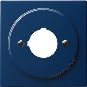Abdeckung mit Tragring Geräte mit 22,5 mm für S-Color blau