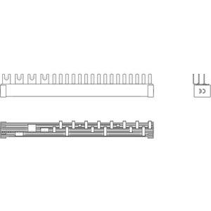 Phasenschiene 1xFI-4P/8xLS-1N(Schmalbau 1TE) = 12TE