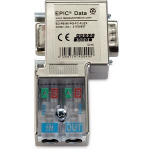 Epic Data Profibus Steckverb.mit 90° Kabelabgang ED-PB-90-FC