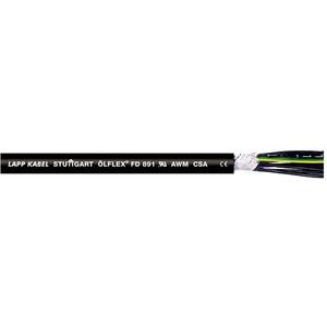 Aderleitung PVC-isoliert nummeriert PVC-Mantel approbiert 3x1,5 Ölflex