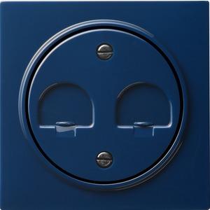 Abdeckung Modular Jack für S-Color blau