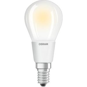 LED Tropfenlampe PARATHOM CL P40 adv. 4,5W 827 E14 470lm dimm matt