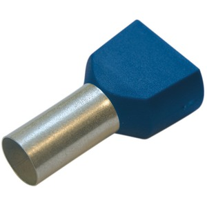 Twin-Aderendhülse 2,5 mm² / L 13 mm blau