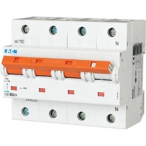 Eaton Leitungsschutzschalter 63A 3-polig+N D-Char