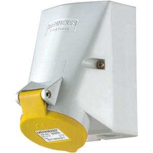 Wanddose TwinCONTACT 32A5p4h110V IP44