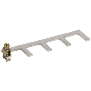 Erdungsbügel einphasig 4-polig mit Anschlußklemme bis 25 mm²
