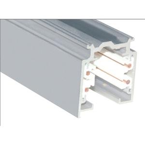 Stromschiene-HV weiß 3-Phasen XTS 4200-3 L 2.000mm Aufbau