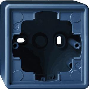 Aufputz-Gehäuse 1-fach für S-Color blau