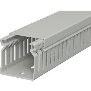 Verdrahtungskanal 40x40x2000 PVC steingrau RAL 7030