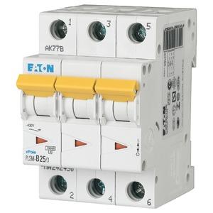 Eaton Leitungsschutzschalter 25A 3-polig D-Char